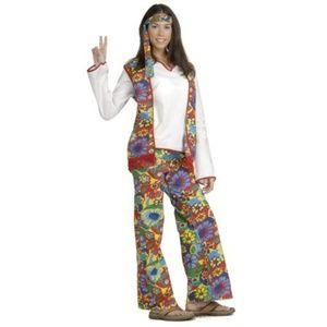 Hippie Dippie Woman Costume 14/16
